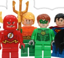 LEGO Justice League of America Sticker