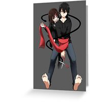 Ayano x Shintarou  Greeting Card