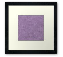Orchid Mist Oil Pastel Color Accent Framed Print