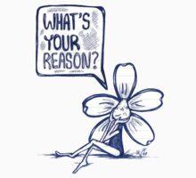 What's Your Reason Flowerkid Kids Tee