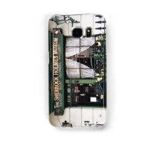 221B Baker Street, Good Evening Mr Holmes Samsung Galaxy Case/Skin