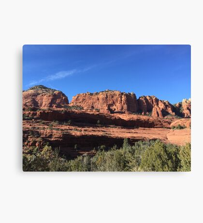 Red Giants Canvas Print