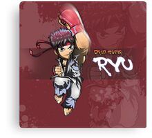 Street Fighter - Ryu poster Canvas Print