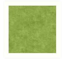 Peridot Oil Pastel Color Accent Art Print