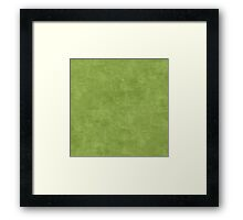 Peridot Oil Pastel Color Accent Framed Print