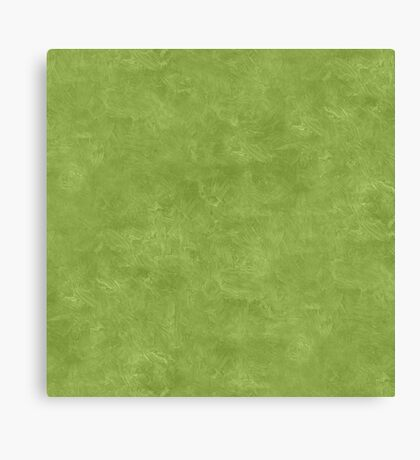 Peridot Oil Pastel Color Accent Canvas Print