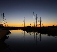 Boats berthed for the night by CiaoBella