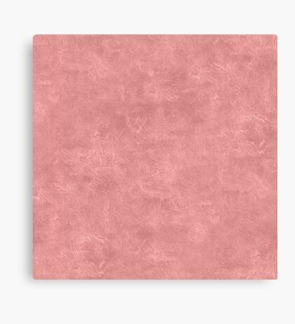 Rosette Oil Pastel Color Accent Canvas Print