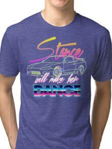 Stance will make her dance Tri-blend T-Shirt