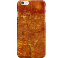 Antique Runescape Map iPhone Case/Skin