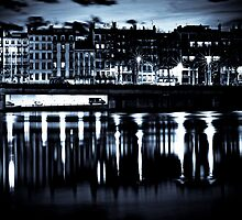 City Lights - Lyon by Sebastian Wuttke