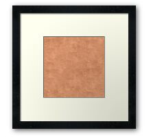 Sandstone Oil Pastel Color Accent Framed Print