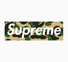 Supreme x Bape Yellow Camo by playboycarti
