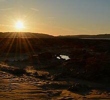 Newton Beach Sunrise by Paula J James