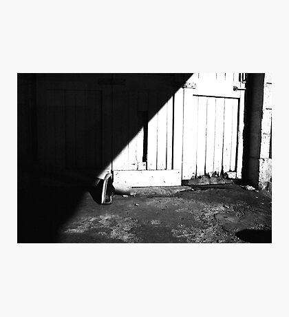 Garage Shoe Photographic Print