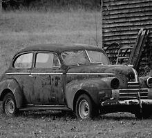 Old Rusty Antique Car  by roadsidestills