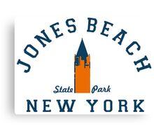 Jones Beach - Long Island. Canvas Print