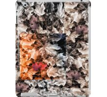 Dead Leaves living in the Forest iPad Case/Skin
