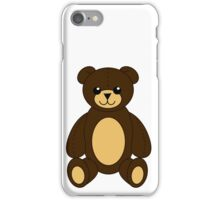 Cute Teddy Bear iPhone Case/Skin