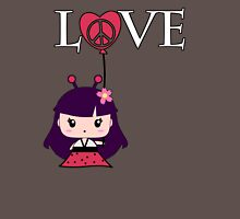 Chibi Love Bug Womens Fitted T-Shirt
