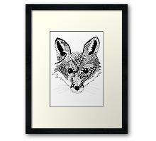 Mr Fox  Framed Print