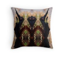 Tingle Forrest 1 Throw Pillow