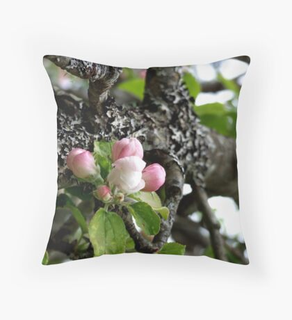In The Apple Tree Throw Pillow