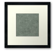 Sea Spray Oil Pastel Color Accent Framed Print