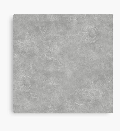 Silver Oil Pastel Color Accent Canvas Print