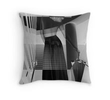 Think Left Think Right Throw Pillow