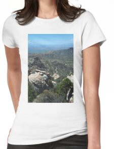 Sky Highway Womens Fitted T-Shirt