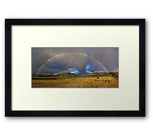 Mustang's Miracle Framed Print