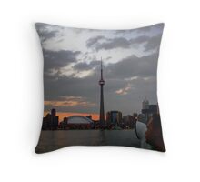 On the Ferry Throw Pillow
