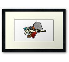 Asgardians Framed Print