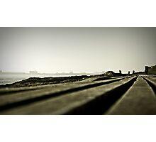 till the horizon... Photographic Print