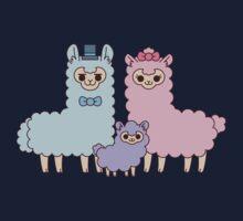 Cotton candy alpaca family Kids Clothes