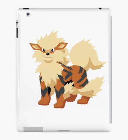 Arcanine Pokemon Simple No Borders iPad Case/Skin