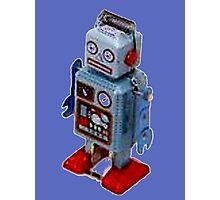 Blue Robot - T-Shirt etc... Photographic Print