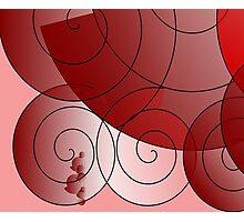 Spirals Photographic Print