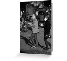 To Go Greeting Card