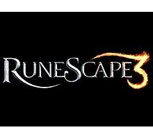 Runescape 3 Official Logo Photographic Print