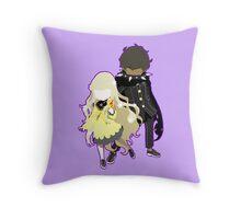 Zen ad Rei Throw Pillow