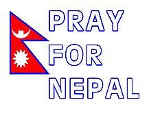 Pray For Nepal Photographic Print