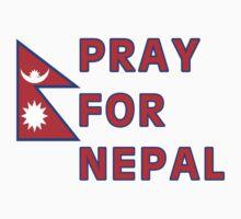 Pray For Nepal (Alternate Design) by FAdesigns