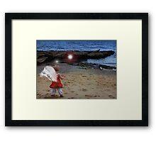 Angel Of The Shore series 8 Framed Print