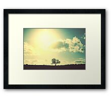 Shine On Me Framed Print