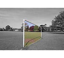 Goal posts Photographic Print