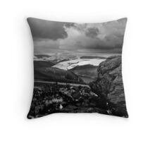 View from Win Hill Throw Pillow