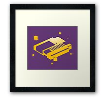Game Cartridge Framed Print