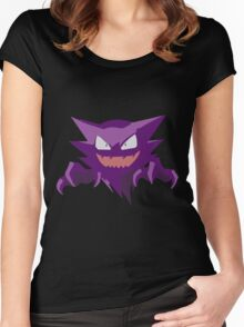Haunter Pokemon Simple No Borders Women's Fitted Scoop T-Shirt